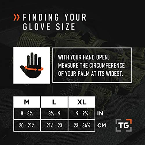 TG Airsoft Glove 9 TG Hellfox Fingerless Tactical Gloves for Men Hard Knuckle for Military Police Combat Motorcycle Outdoors Camping Cycling Paintball