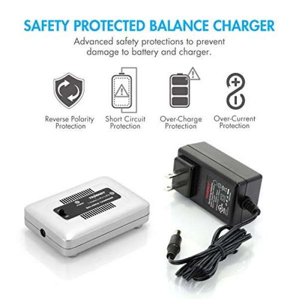 LiPo Battery Pack 20C Replacement Hobby Battery for AEG with Mini Tamiya Connector