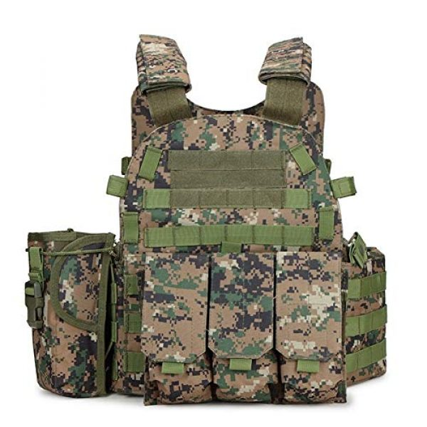 Shefure Airsoft Tactical Vest 5 Shefure Outdoor Hunting Vests Tactical Vest Military Men Clothes Army CS Equipment Accessories Airsoft Body Armor Painball Vest