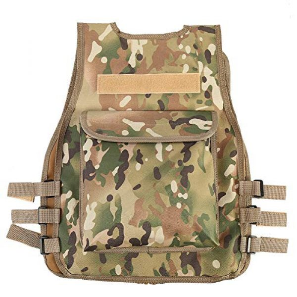 VGEBY Airsoft Tactical Vest 2 VGEBY 4 Colors Nylon CS Game Molle Body Armor Vest for Children Outdoor Equipment