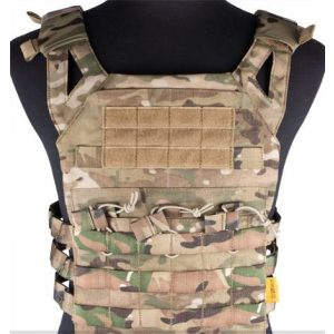 enmu pancho Airsoft Tactical Vest 1 Professional Airsoft Vest made with Durable nylon fabric - Land Camo