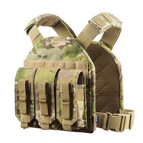 vAv YAKEDA Airsoft Tactical Vest 2 vAv YAKEDA Tactical CS Adjustable Vest