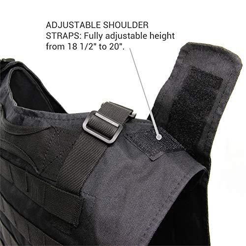Solomone Cavalli Airsoft Tactical Vest 4 Solomone Cavalli Tactical Airsoft Vest Outdoor Ultra-Light Training Vest Adjustable for Adults 600D Black