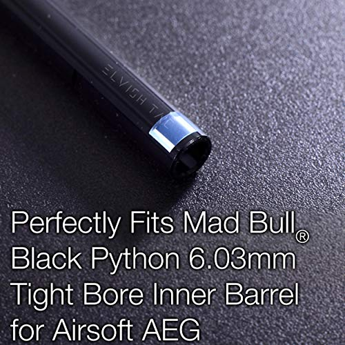 Elvish Tac Airsoft Barrel 5 Elvish Tac RHOP Fit Mad Bull Black Python 6.03mm Airsoft TBB Barrel NO Sanding Needed R Hop R-Hop