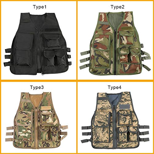 Duevin Airsoft Tactical Vest 2 Duevin Children Tactical Vest