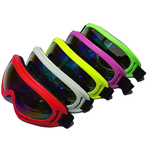 DPLUS Airsoft Goggle 1 DPLUS Motorcycle Goggles ATV Dirt Bike Off Road Racing MX Goggle Anti-Dust Bendable Eyewear with Padded Soft Foam
