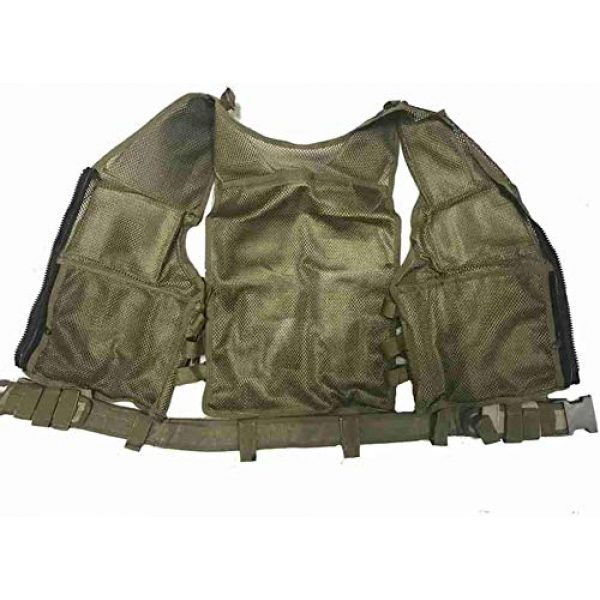 Hunting Explorer Airsoft Tactical Vest 4 600D Polyester Military Equipment air Gun Tactical Vest, Used for Military Combat Training, CS, Paintball Shooting and Other Airsoft Combat Protective Vests.
