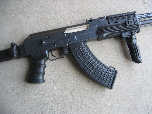 Double Eagle  3 Double Eagle DE Ak-47S Metal Automatic Electric Airsoft Assault Gun 320FPS Black