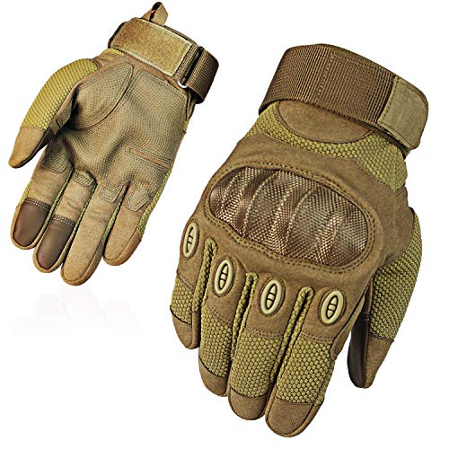 Fuyuanda Airsoft Glove 7 Touch Screen Full Finger Outdoor Gloves for Riding Motorcycle