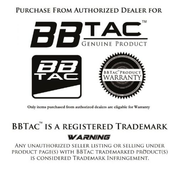 BBTac Airsoft BB 7 BBTac Airsoft BBs .12g Ammo 6mm (3,000 Round Bag, Multi Colors)