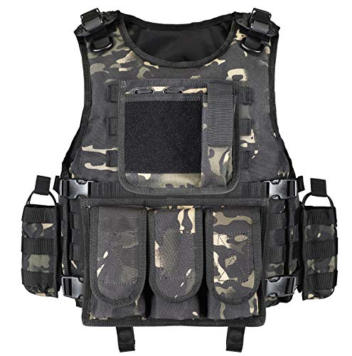 GZ XINXING Airsoft Tactical Vest 1 GZ XINXING Tactical Airsoft Paintball Vest