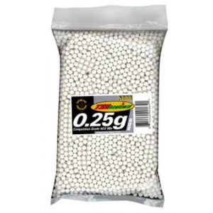 TSD Airsoft BB 1 TSD Tactical 5,000 ct. Bag Plastic White Airsoft BBS (6mm, 0.25g)