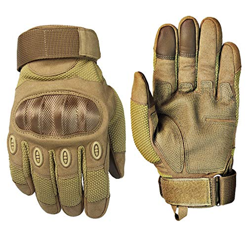 Fuyuanda Airsoft Glove 1 Touch Screen Full Finger Outdoor Gloves for Riding Motorcycle