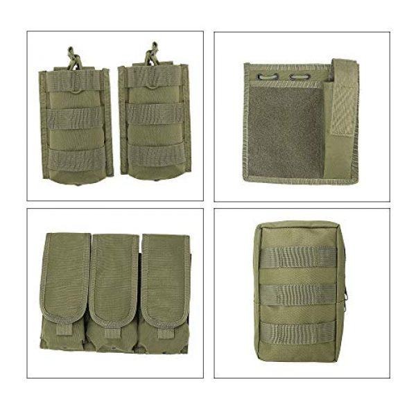 MGFLASHFORCE Airsoft Tactical Vest 6 MGFLASHFORCE Tactical CS Field Vest, Airsoft Paintball Vest