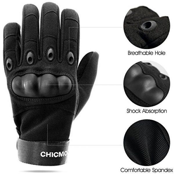 CHICMODA Airsoft Glove 3 CHICMODA Tactical Gloves Hard Knuckle