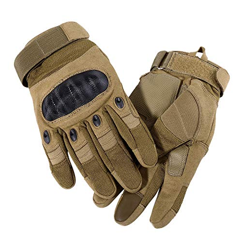 WTACTFUL Airsoft Glove 7 WTACTFUL Touch Screen Motorcycle Full Finger Gloves for Cycling Motorbike ATV Hunting Hiking Riding Climbing Operating Work Sports Gloves