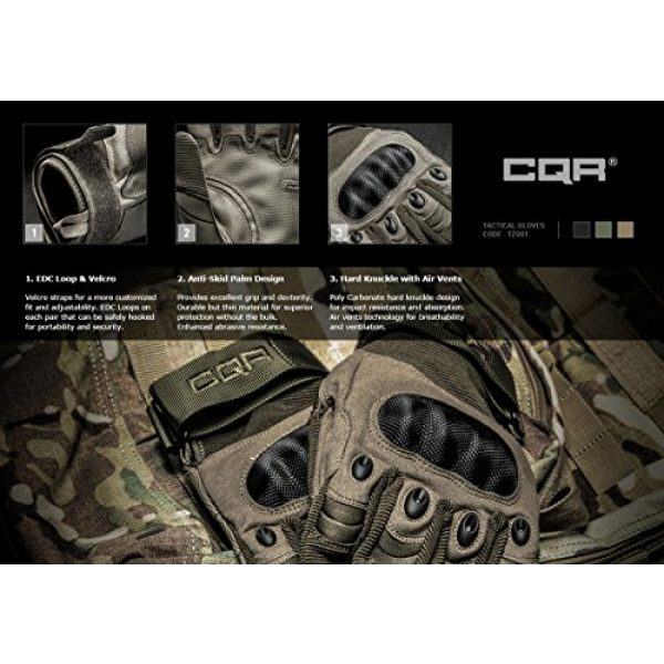 CQR Airsoft Glove 7 CQR Tactical Gloves EDC Outdoor Airsoft Shooting Motorcycle