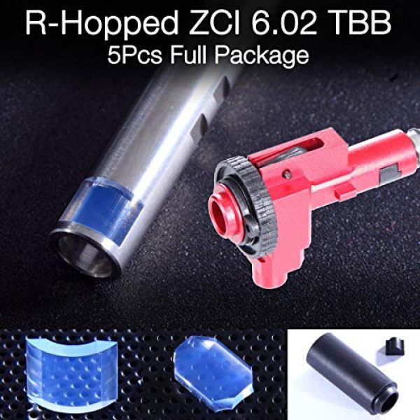 Elvish Tac Airsoft Tool 1 Elvish Tac R-Hopped ZCI 6.02 Tightbore Barrel Modify Flat-Hop Bucking ZCI CNC Hopup S-Nub AEG R-Hop RHop