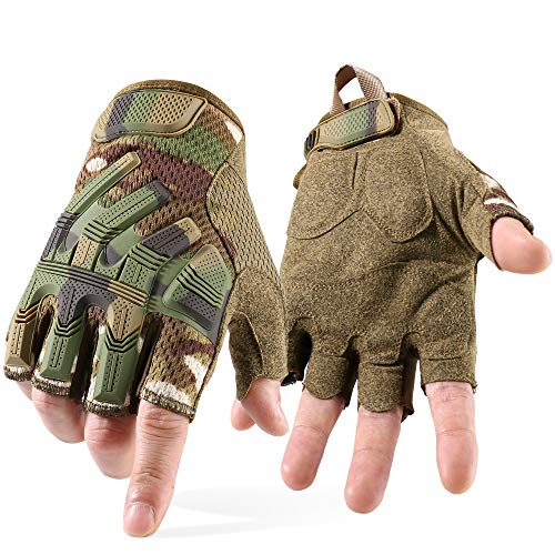YOSUNPING Airsoft Glove 6 YOSUNPING Tactical Gloves Touchscreen for Riding Motorcycle Hunting Cycling