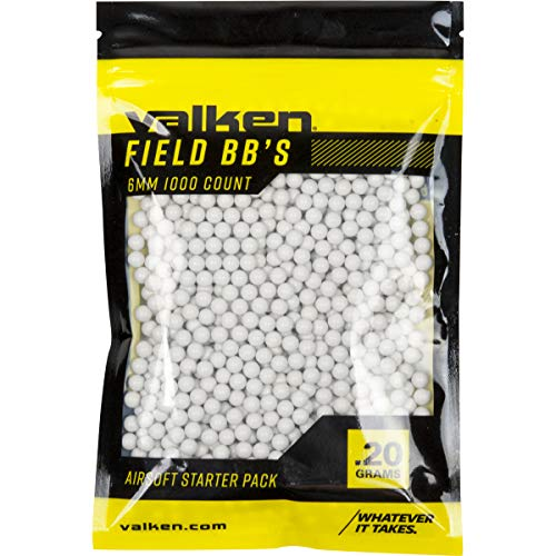 Valken Airsoft BB 1 Valken Accelerate Airsoft BBS - 0.20G-1000 Count-White