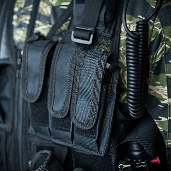 Valken Airsoft Tactical Vest 3 Valken Tactical Crossdraw Vest - Adult - Black