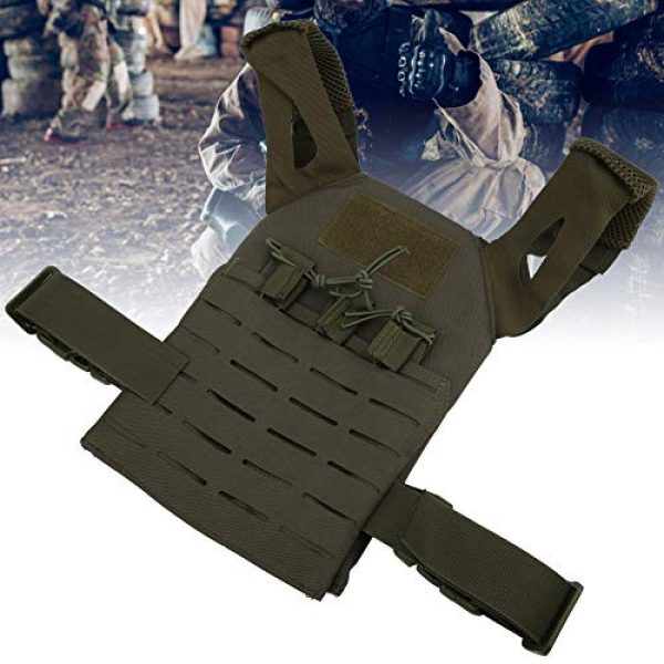 Demeras Airsoft Tactical Vest 5 Demeras Multifunctional Tactics Vest Lightweight Thick Outdoor Vest for Kids
