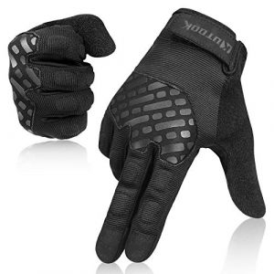 KUTOOK Airsoft Glove 1 KUTOOK Multifunctional Full Finger EVA Padded Gloves Touch Screen for MTB Cycling Climbing Hiking Shooting Fishing Working Outdoor