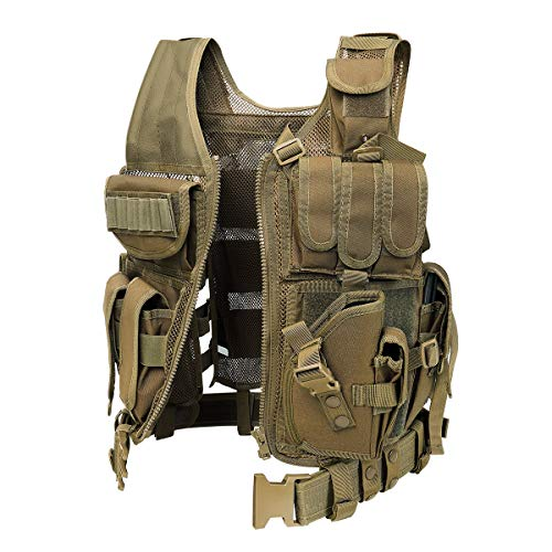 GZ XINXING Airsoft Tactical Vest 2 GZ XINXING S - 4XL 100% Full Refund Assurance Tactical Airsoft Paintball Vest