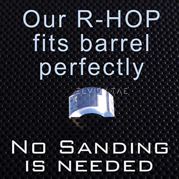 Elvish Tac Airsoft Barrel 2 Elvish Tac RHOP 3 Pcs Fit Airsoft AEG Barrel NO-Sanding-Needed R Hop R-Hop