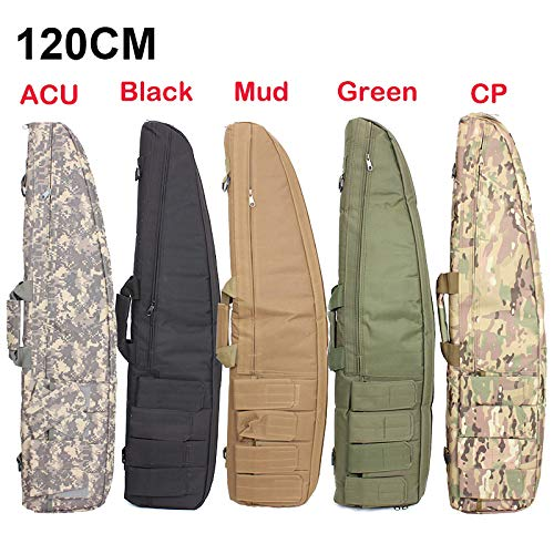 """Yamcyh Airsoft Gun Case 2 Yamcyh 39""""/47"""" Outdoor Military Carry Nylon Case Hunting Airsoft Tactical Rifle Gun Bag Heavy Duty Hunting Shotgun Case Carrying Military Shoot Soft Bag"""