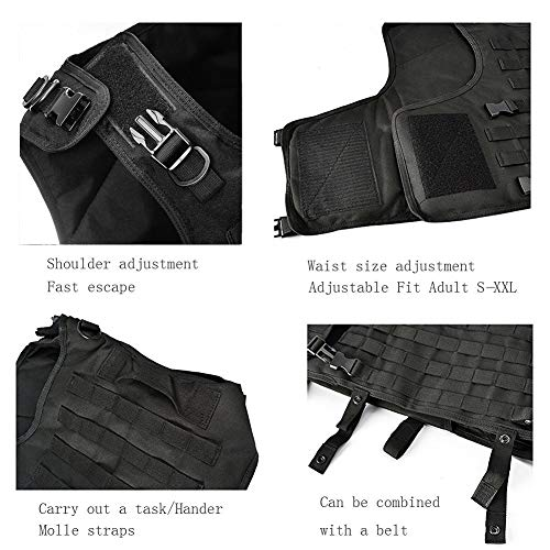 vAv YAKEDA Airsoft Tactical Vest 4 vAv YAKEDA Tactical Vest Military Chest Rig Airsoft Swat Vest for Men