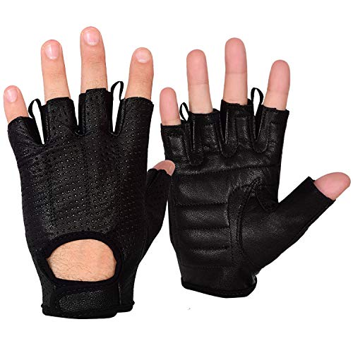 Max5 Airsoft Glove 3 Max5 Men's Fingerless Motorcycle Gloves