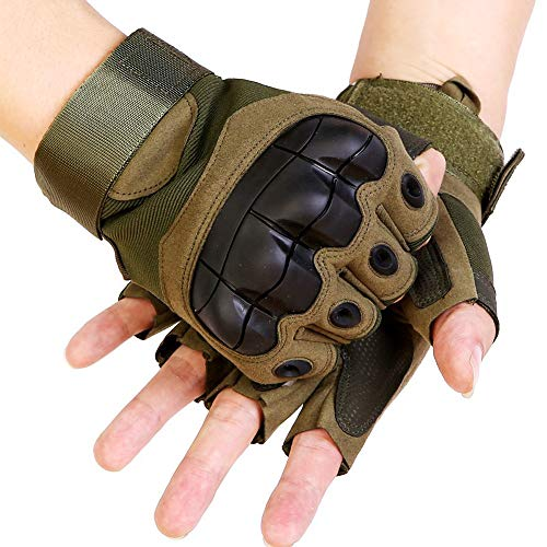 Muzboo Airsoft Glove 1 Tactical Gloves Military Half Finger Outdoor Gloves for Airsoft Shooting Riding