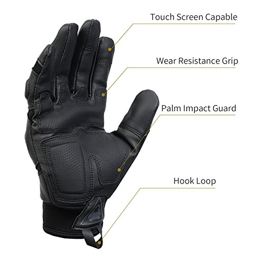 Viperade Airsoft Glove 4 Viperade Mens Tactical Gloves Military Rubber Hard Knuckle Outdoor Glove | Heavy Duty Glove | Airsoft Glove | Best for Cycling Hiking Camping Powersports