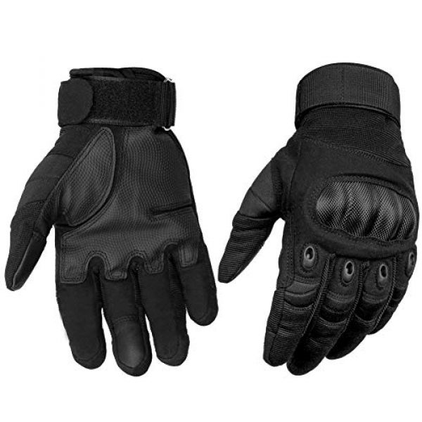 HOMEE Airsoft Glove 1 HOMEE Tactical Gloves Touch Screen Military Rubber Hard Knuckle Full Finger Gloves Fit for Cycling Airsoft Paintball Motorcycle Hiking Camping