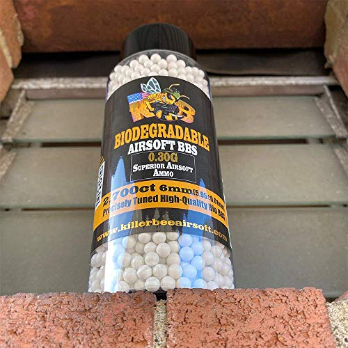 Killer Bee Airsoft  2 Biodegradable Airsoft BBS 0.30g 6mm BBS 2