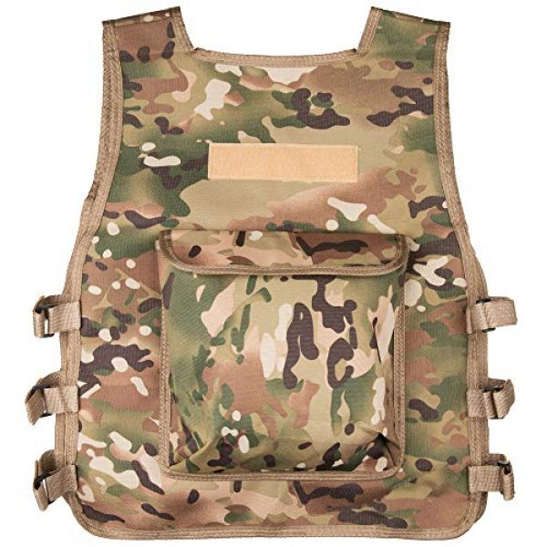 Rein Sport Airsoft Tactical Vest 2 Rein Sport Children's Army All Terrain Tactical Airsoft, Paintball, Combat Vest - Adjustable to Fit Ages 7-13 Yrs. Flexible, Lightweight and Durable for Extreme Play and Adventuring