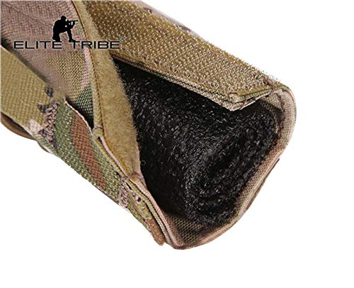 Elite Tribe Airsoft Tool 5 Elite Tribe Airsoft Tactical Rifle Suppressor Cover 18cm Quick Release Multicam