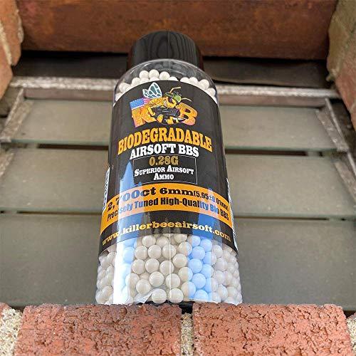 Killer Bee Airsoft Airsoft BB 2 Biodegradable Airsoft BBS 0.28g 6mm BBS 2
