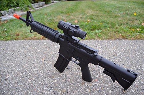 Airgunplace  2 Airgunplace Well D92 M4A1 Electric Full AUTO Airsoft Rifle Gun