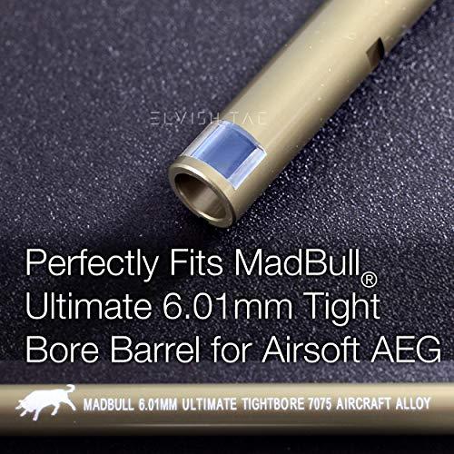 Elvish Tac Airsoft Barrel 4 Elvish Tac RHOP Fit Mad Bull Ultimate 6.01mm Airsoft AEG TBB Barrel NO Sanding Needed R Hop