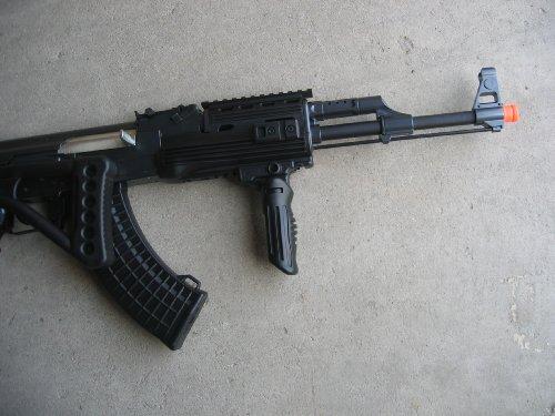 Double Eagle  5 Double Eagle DE Ak-47S Metal Automatic Electric Airsoft Assault Gun 320FPS Black