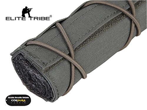 Elite Tribe Airsoft Tool 5 Elite Tribe Military Hunting Tactical 22cm Airsoft Suppressor Cover Silencer Cover