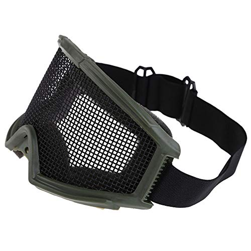 Sunny Airsoft Goggle 2 Outdoor Sports Airsoft Hunting Protention Gear Tactical Shooting Metal Steel Wire Mesh Goggles