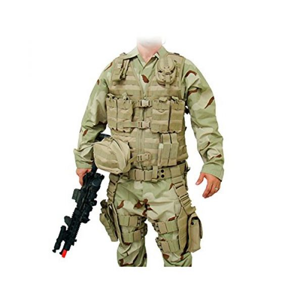 UTG Airsoft Tactical Vest 2 UTG Ultimate Tactical Gear Modular 10 Piece Complete Kit