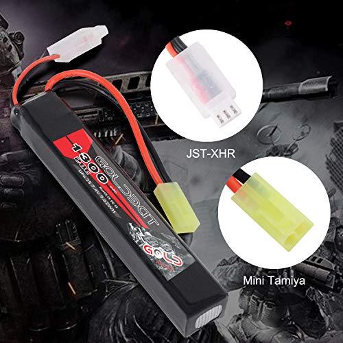 GOLDBAT Airsoft Battery 2 GOLDBAT 1300mAh 7.4V 20C 2S LiPo Stick Battery