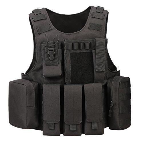 ArcEnCiel Airsoft Tactical Vest 1 ArcEnCiel Tactical Molle Vest
