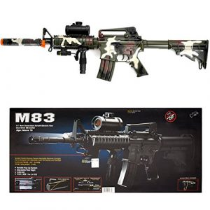 Double Eagle Airsoft Rifle 1 Camo M4 M16 Airsoft Electric Assault Rifle AEG Semi-Full Auto M83
