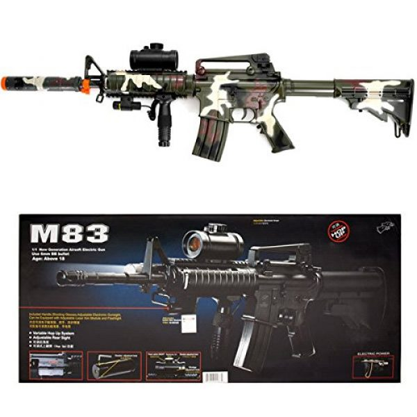 Double Eagle Airsoft Rifle 1 Camo M4 M16 Airsoft Electric Assault Rifle AEG Semi-Full Auto M83