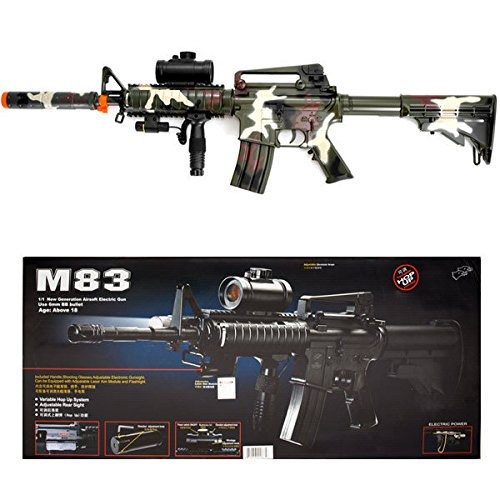 Double Eagle  1 Camo M4 M16 Airsoft Electric Assault Rifle AEG Semi-Full Auto M83